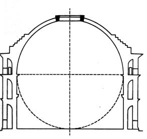 bygning med hvid kuppel